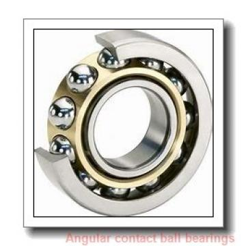 45 mm x 120 mm x 29 mm  ISO 7409 B angular contact ball bearings