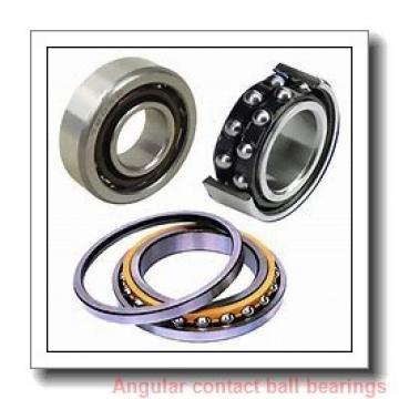 85 mm x 150 mm x 28 mm  SKF QJ217MA angular contact ball bearings