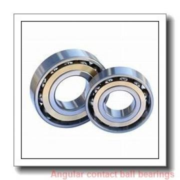 20 mm x 52 mm x 15 mm  NACHI 7304BDB angular contact ball bearings