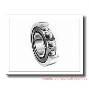 60 mm x 110 mm x 22 mm  NACHI 7212BDT angular contact ball bearings