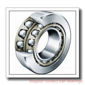 40 mm x 80 mm x 18 mm  ISO 7208 A angular contact ball bearings