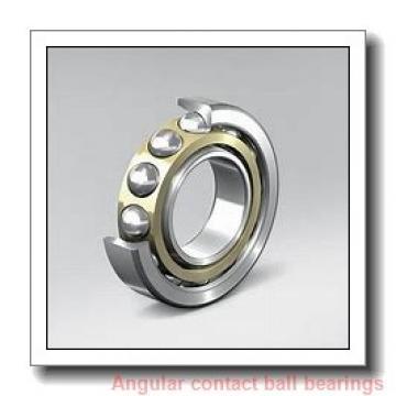 17 mm x 40 mm x 12 mm  NTN 7203DF angular contact ball bearings