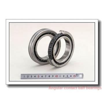 45 mm x 83 mm x 45 mm  NTN AU0925-1LL/L588 angular contact ball bearings