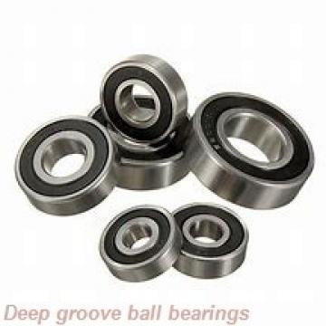 90 mm x 190 mm x 43 mm  KOYO 6318-2RS deep groove ball bearings