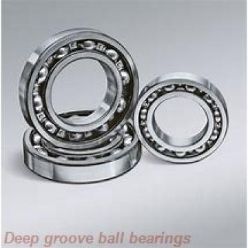 2 mm x 5 mm x 2,5 mm  NMB L-520W52 deep groove ball bearings