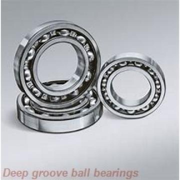 25 mm x 62 mm x 38 mm  ISO UC305 deep groove ball bearings