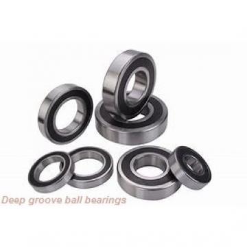 140 mm x 210 mm x 33 mm  NACHI 6028ZZ deep groove ball bearings
