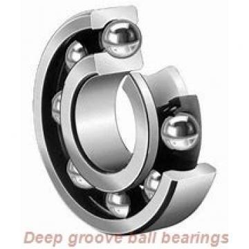 30 mm x 62 mm x 23,83 mm  Timken GRAE30RRB deep groove ball bearings
