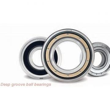 20 mm x 42 mm x 12 mm  ISB 6004-ZZ deep groove ball bearings