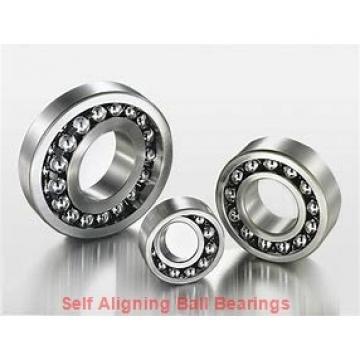 8 mm x 24 mm x 8 mm  ISO 128 self aligning ball bearings