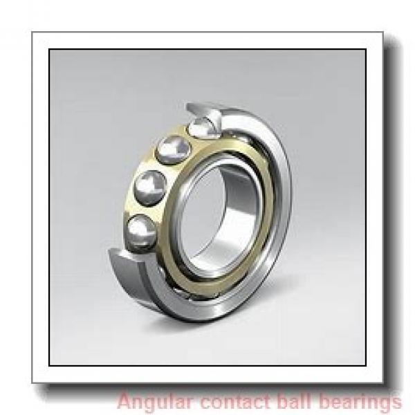 75 mm x 130 mm x 25 mm  NTN 7215DT angular contact ball bearings #1 image