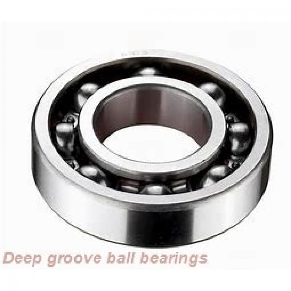 25 mm x 62 mm x 17 mm  NKE 6305-2Z deep groove ball bearings #1 image