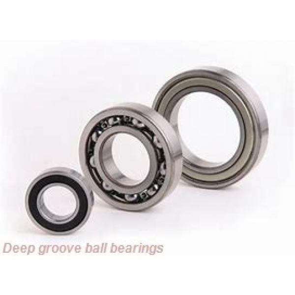 100 mm x 140 mm x 18 mm  NSK B100-3 deep groove ball bearings #2 image