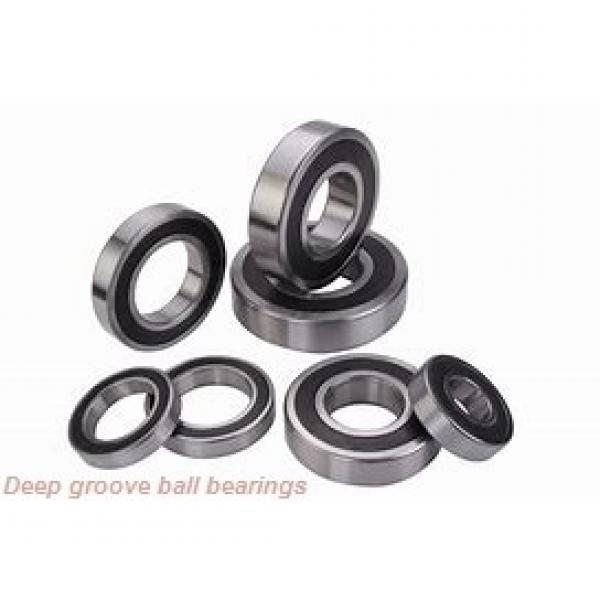 25 mm x 62 mm x 25,4 mm  ISO 63305-2RS deep groove ball bearings #1 image